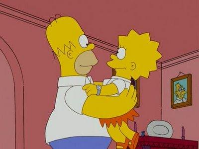 Homer und Lisa